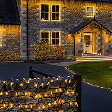 Outdoor Christmas Fairy Lights