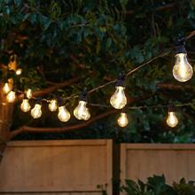 Christmas festoon lights