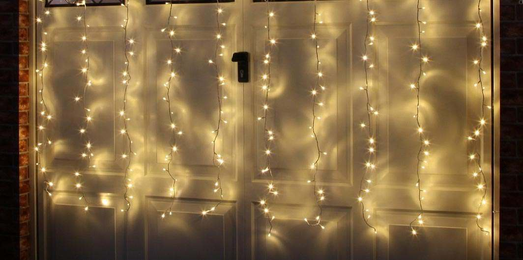 Christmas Curtain Lights Buy Now From Festive Lights