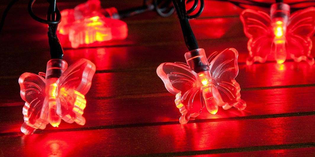 Red Fairy Lights Buy Today From Festive Lights