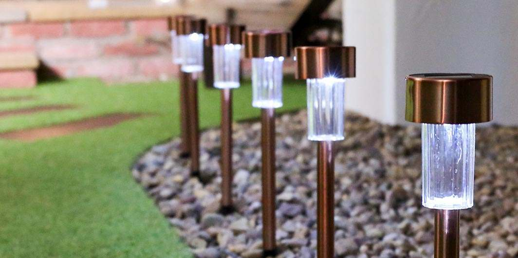 Solar Path Lights Light Your Way Home With Festive Lights