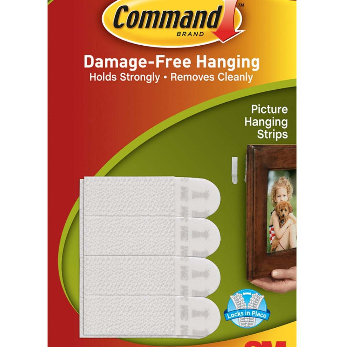 3m Command Small Picture Hanging Strips