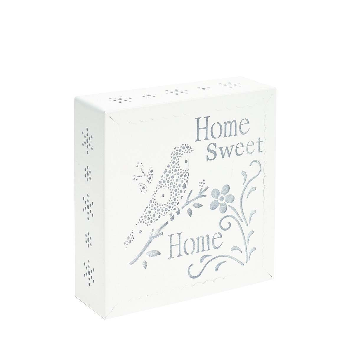 Click to view product details and reviews for Metal Home Sweet Home Battery Pre Lit Wall Art.