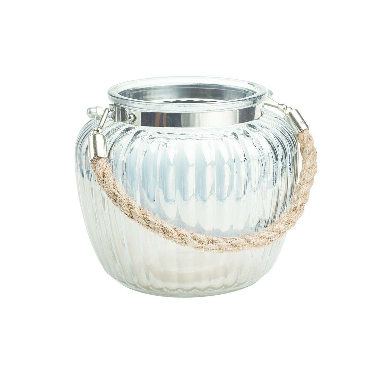 Click to view product details and reviews for Gardman Hanging Glass Ribbed Jar Medium.