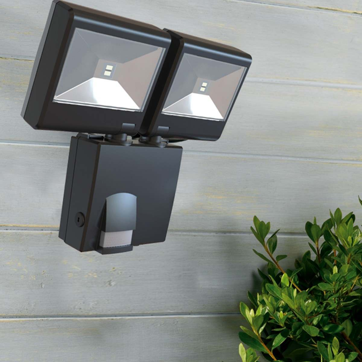 Outdoor Security Lights Pir: Outdoor Battery Security Light With PIR Motion Sensor