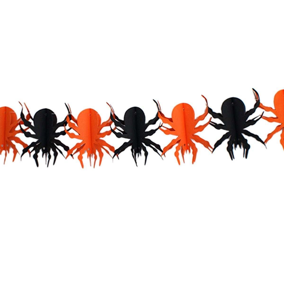 3m Spider Halloween Paper Garland