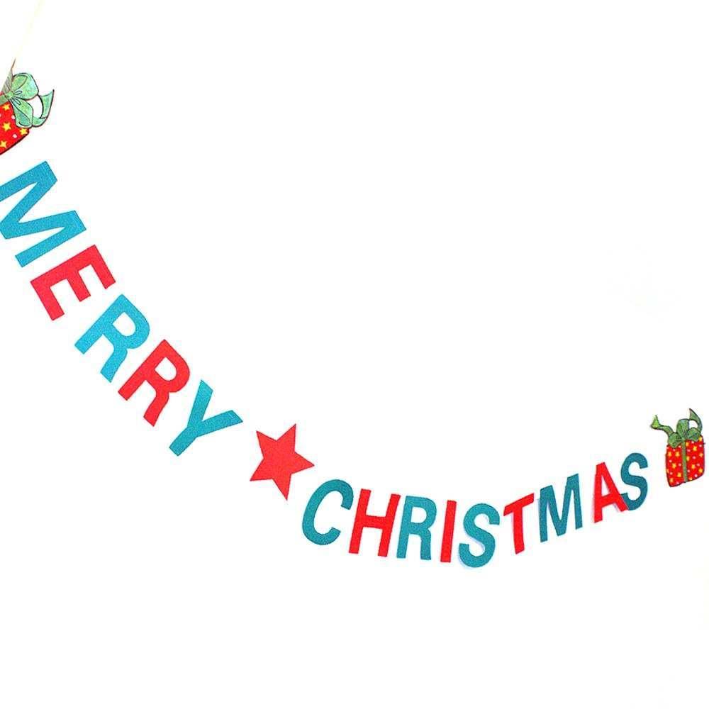 Merry Christmas Garland 15 x 250cm