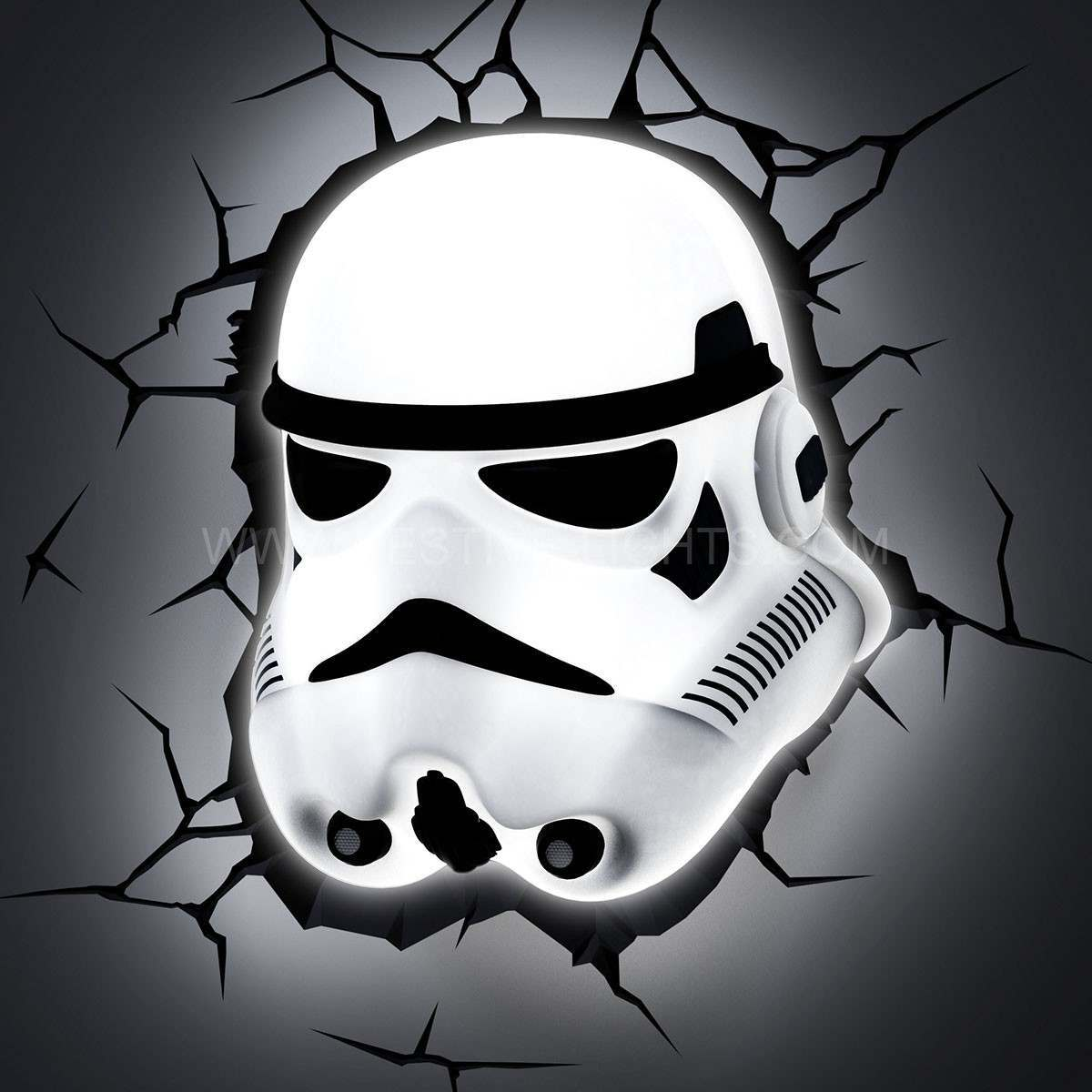 NEW Star Wars Stormtrooper 3D LED Battery Wall Deco Night Light