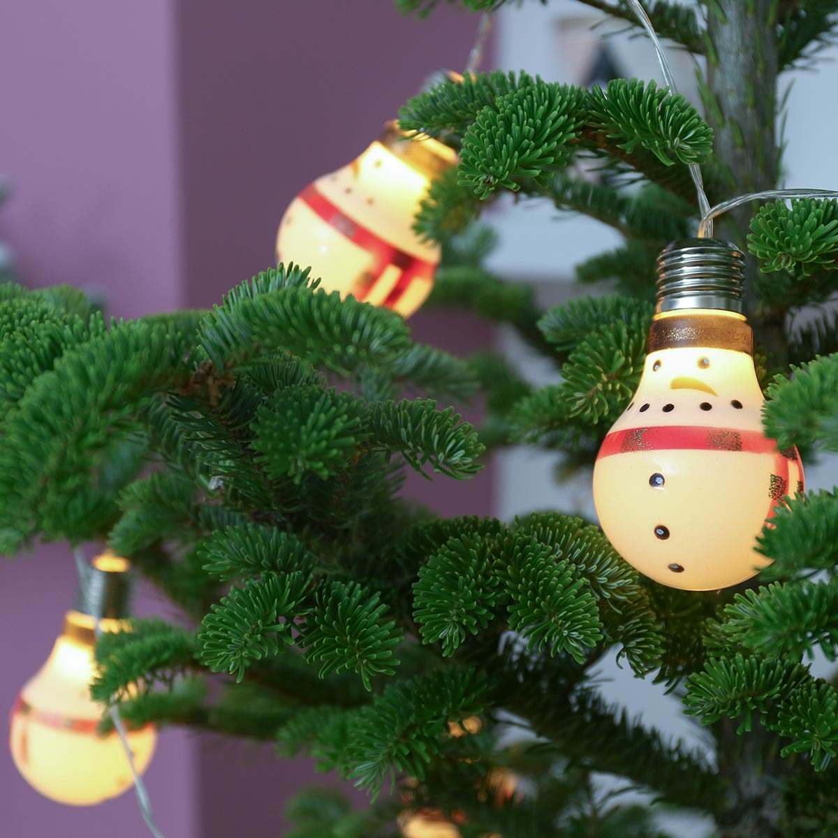 Click to view product details and reviews for 2m Battery Christmas Snowman Festoon Lights 10 Leds.