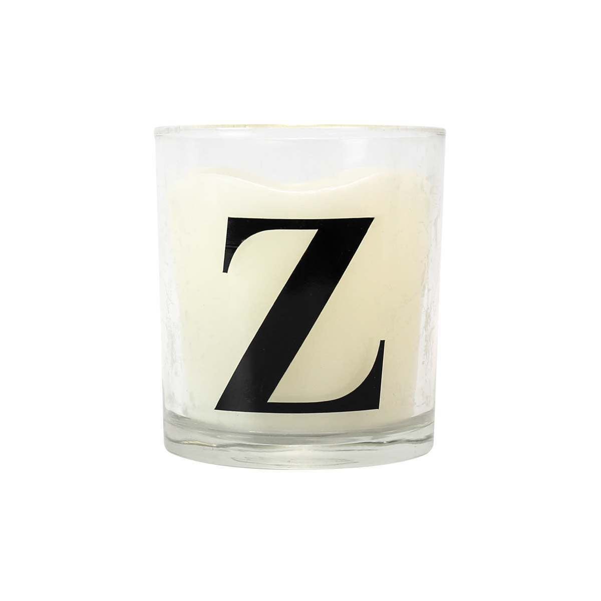Click to view product details and reviews for Alphabet Z Battery Vanilla Scented Flickering Led Glass Candle.