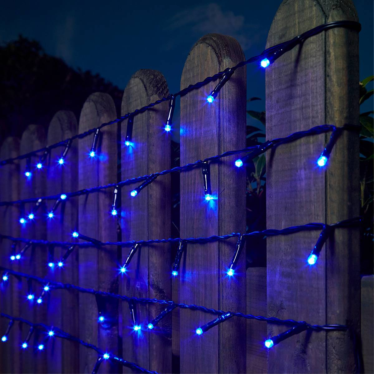 Click to view product details and reviews for 5m Indoor Outdoor Battery Christmas Fairy Lights With Timer 50 Blue Leds.