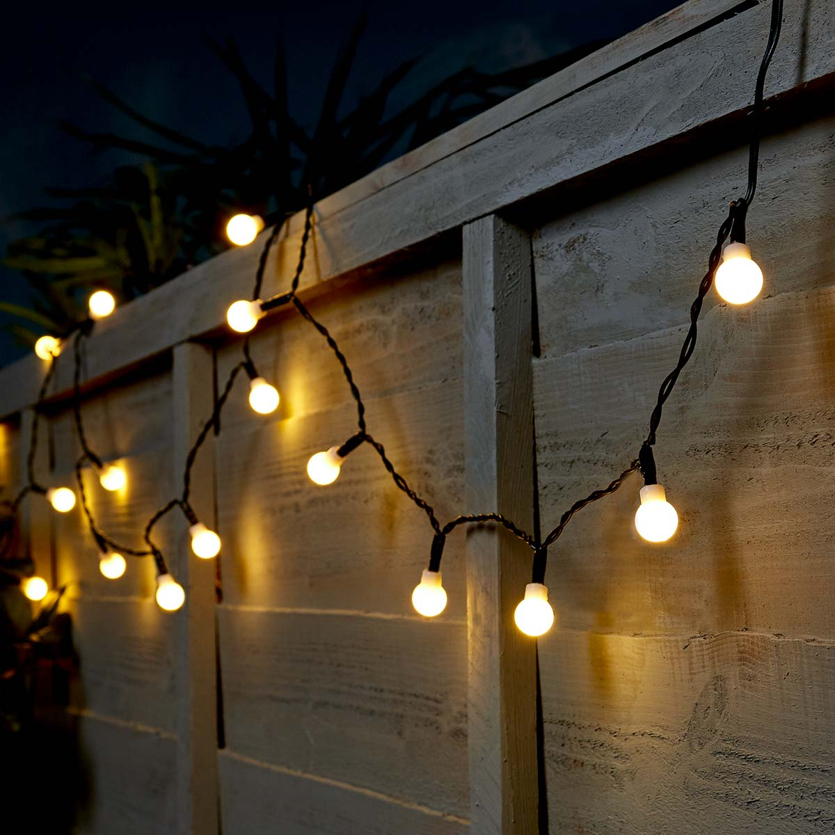 Click to view product details and reviews for 5m Outdoor Battery Berry Christmas Fairy Lights Warm White Leds Green Cable.