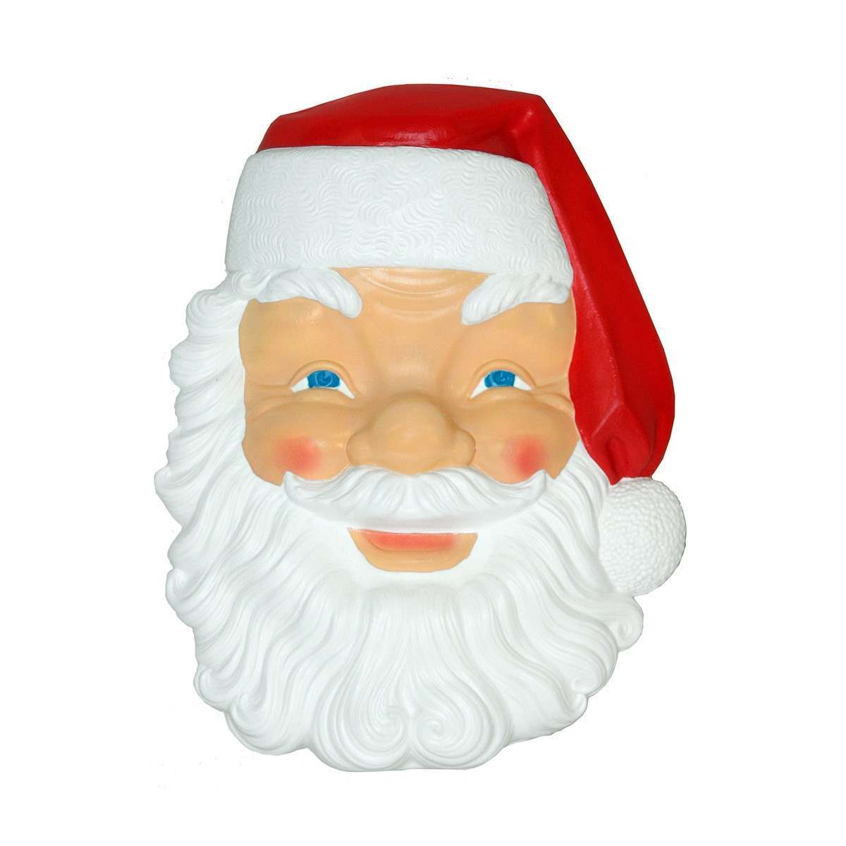 86cm Santa Face Moulded Figure