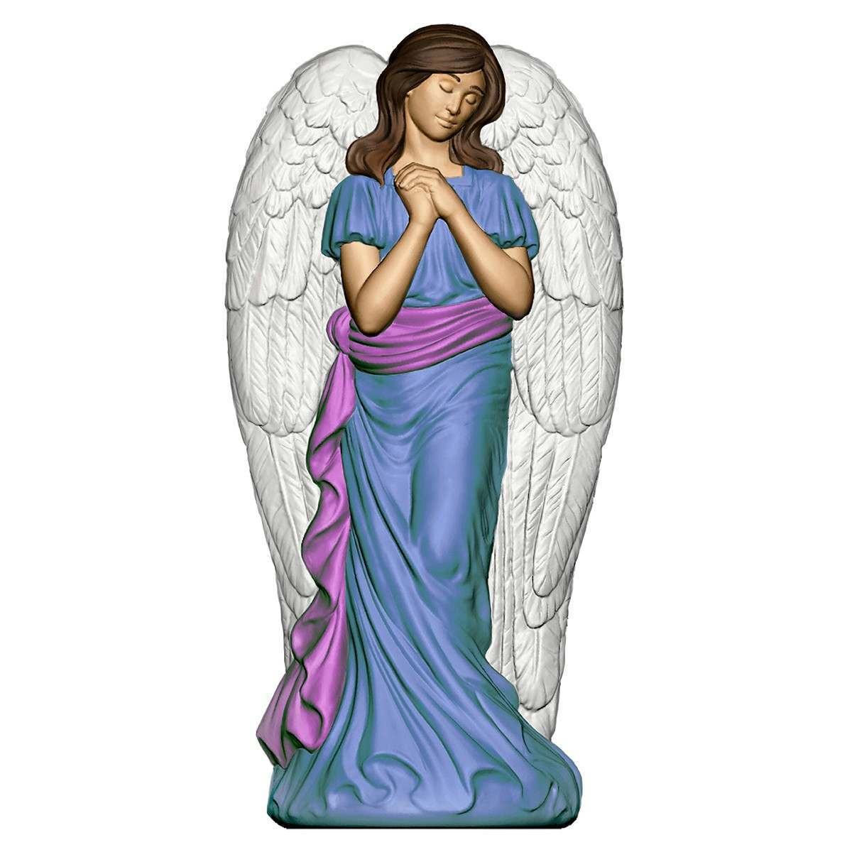 Click to view product details and reviews for 78cm Angel With Wings Blow Mould Figure.