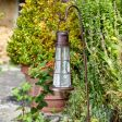Solar Lighthouse Lantern Light with Crook