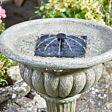 Solar Rochester Bird Bath Water Feature