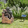 Solar Heywood Mill Water Fountain