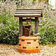 Solar Wishing Well Water Fountain