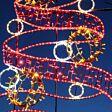 1.8m Aluminium Outdoor LED Rope Light Christmas Tree Motif