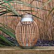 40cm Solar Hanging  Bamboo Lantern