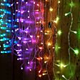 1.5m x 0.8m Smart App Controlled Twinkly Curtain Icicle lights