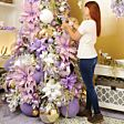 15cm Clear Acrylic Icicle Drop Christmas Tree Decoration