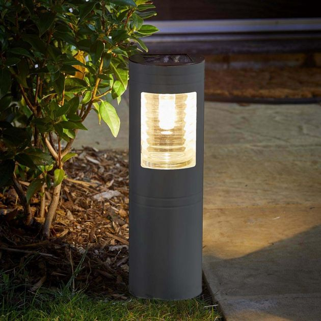 365 Solar Filament Effect LED Bollard Light