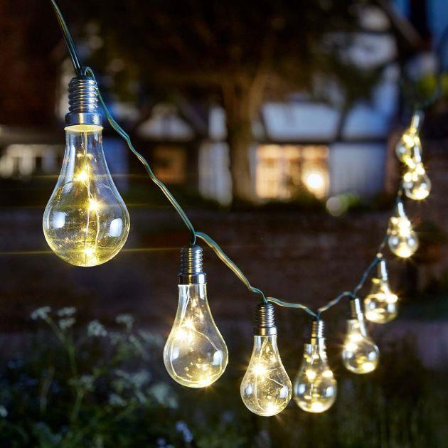 Solar Festoon Fairy Lights