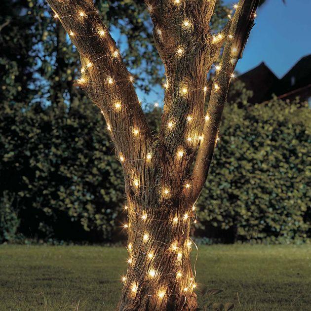 10m Solar Firefly Fairy Lights