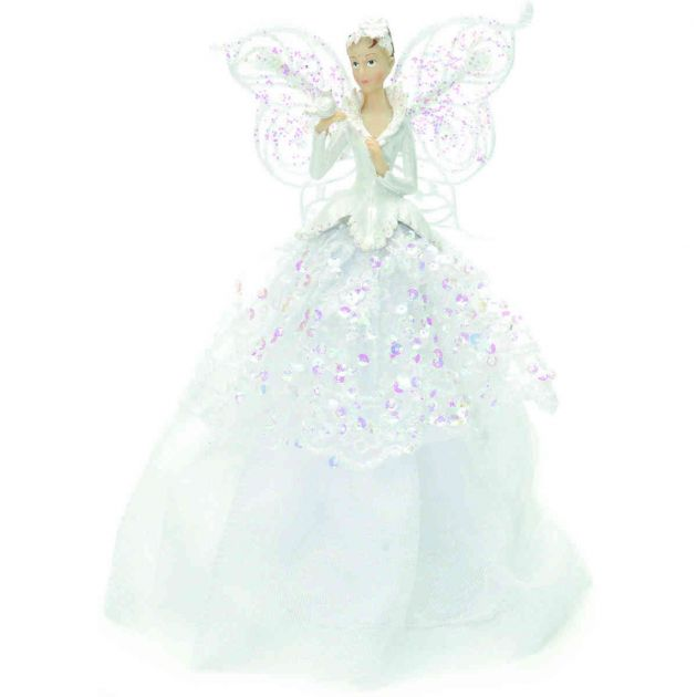 23cm Angel Christmas Tree Topper Decoration