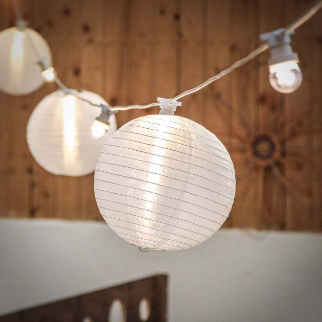 30cm White Chinese Lantern