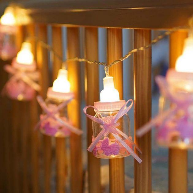 Battery Baby Girl Bedroom Fairy Lights
