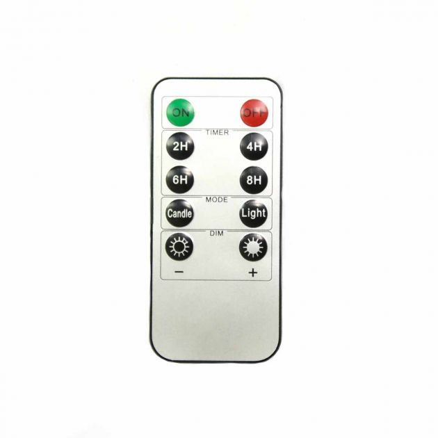 Remote Control for Selected Battery Candles