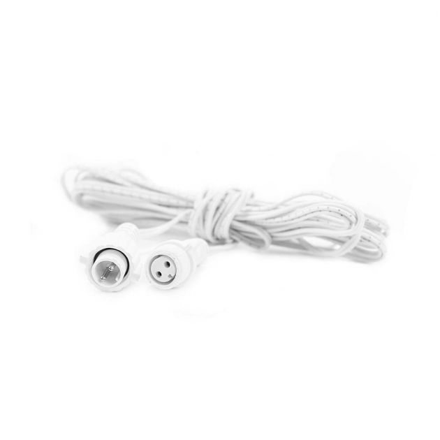 5m Extension, White Cable