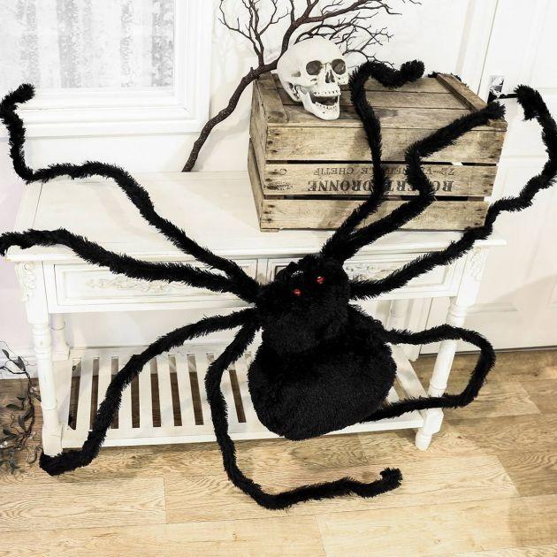 2.3m Giant Black Spider