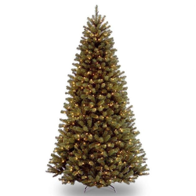 12ft Pre Lit Green North Valley Spruce Artificial Christmas Tree