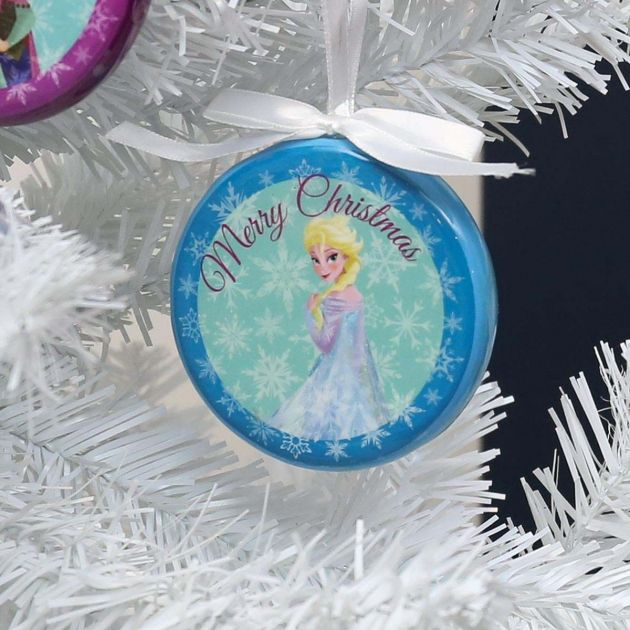 Frozen Blue 'Merry Christmas' Elsa Hanging Christmas Tree Decoration