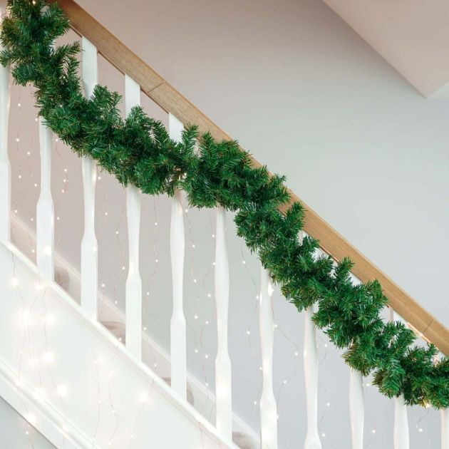 1.8m Green Christmas Garland
