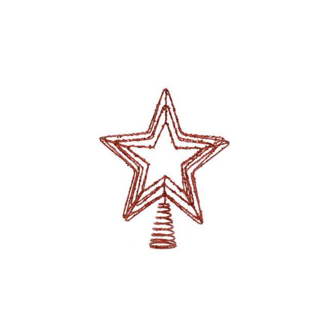 30cm  Star Christmas Tree Topper Decoration