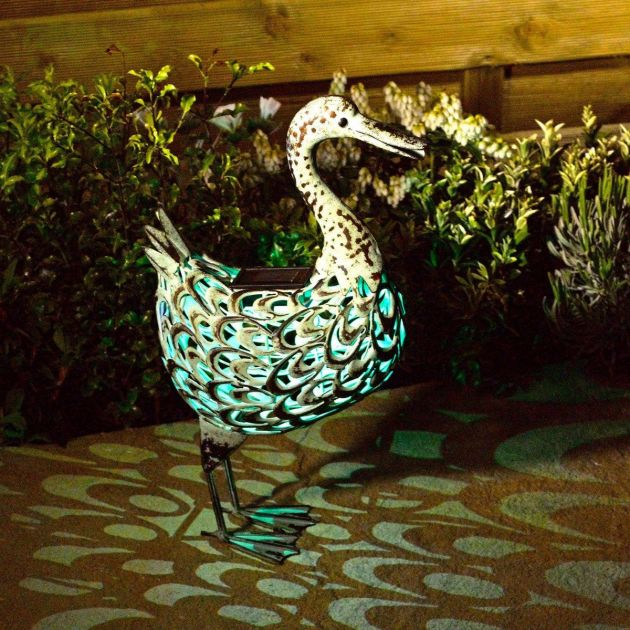 Solar Novelty Duck Light