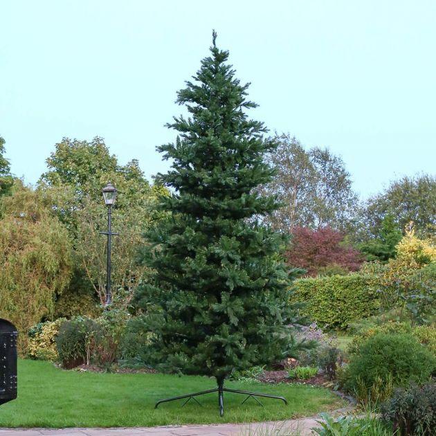12ft Outdoor Green Richmond Firl PE Christmas Tree