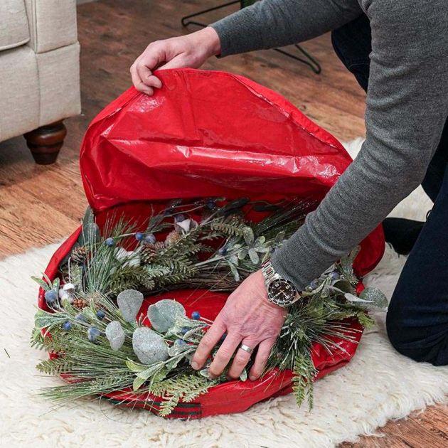 46cm Medium Christmas Wreath Storage Bag