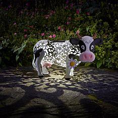 Solar Novelty Daisy the Cow Light