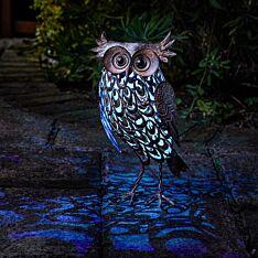 Solar Novelty Giant Owl Light