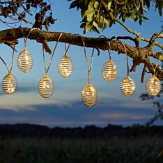 1.8m Solar Spiralites Fairy Lights