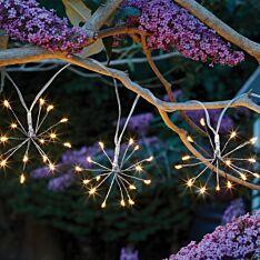 1.8m Solar Starburst Fairy Lights