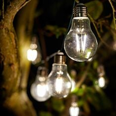 Solar Filament Effect LED Festoon Lights