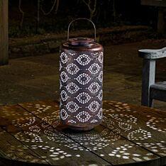 Solar Copper Lantern, 42cm