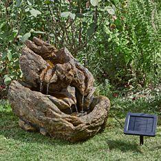 Solar Whychwood Falls Water Fountain