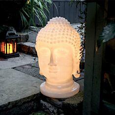 Solar Buddha Head Light
